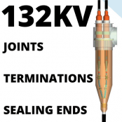132kV Straight Cable Joints, Outdoor Terminations & SF6 Cable Sealing Ends