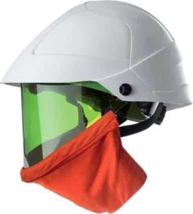 20 Cal Arc Flash Protection - CATU MO-180-ARC Helmet