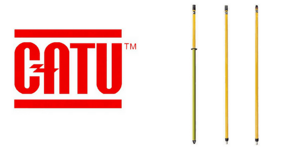 CATU Insulating Sticks for Short Circuit & Earthing Systems