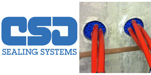 CSD RISE Duct Seals - Sealing Cable Ducts (Water Tight & Gas Tight)