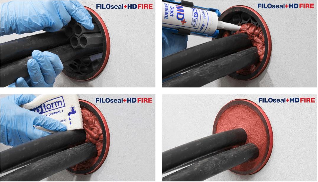 Filoform FiloSeal+HD FIRE - Instructions