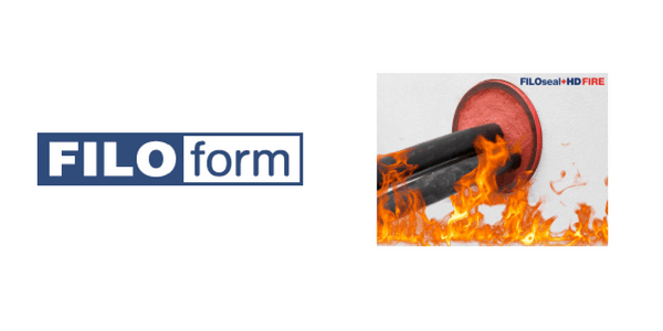 Fire Resistant Cable Duct Seals & Sealing Systems - Filoform FiloSeal+HD FIRE