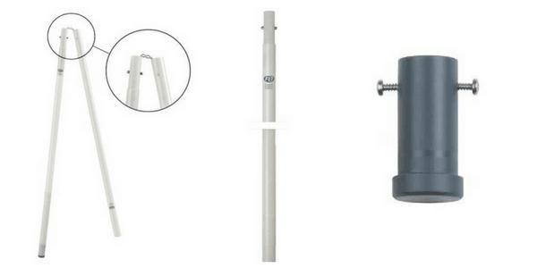 HV Substation Operating Poles & Earthing Rods 1