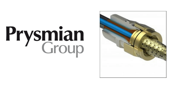 Prysmian 424UL Barr-DX Explosion Proof Cable Gland Shipboard Cables (Unjacketed)