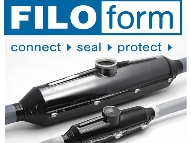Product Cable Joints : Straight cable joints filoform resin lv