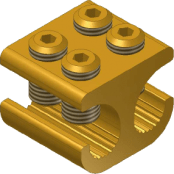 Sicame MB21/1 Brass (Side Entry) LV Service Branch Connector