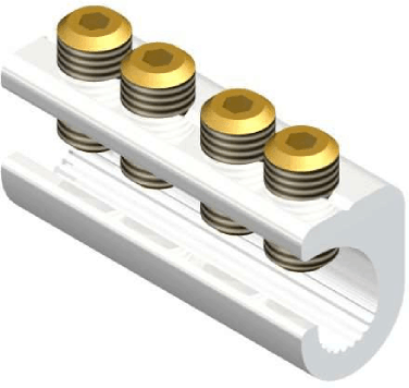 Sicame MF19/2 Hybrid (Side Entry) LV Service Straight Connectors