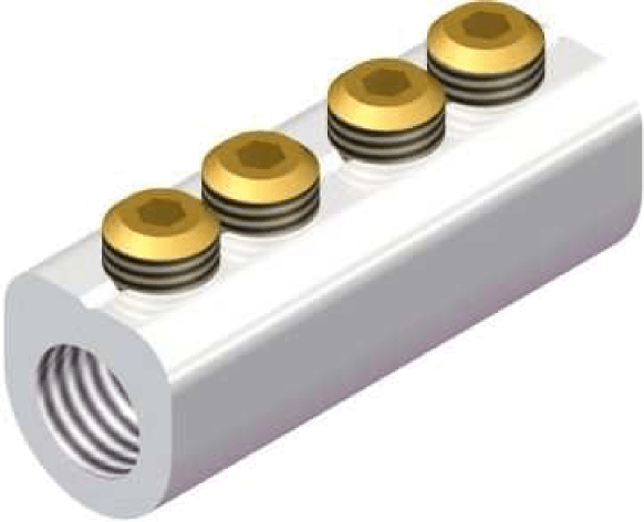 Sicame MF4 Hybrid ('D' Section) LV Service Straight Connectors