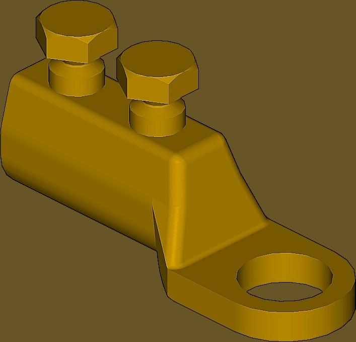 Sicame ML4/12, 4/13 & 4/14 Brass Forgings LV Terminations (Lugs)