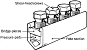 Sicame UM1, 2 & 3 Aluminium LV Mains Straight Connector