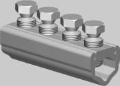Sicame UM95, 185, 300, UM95XL, 185XL & 300XL Aluminium LV Mains Straight Connector