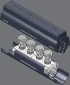 Sicame UM95M/SHR, UM185M/SHR & UM300M/SHR LV Mains Straight Connector