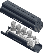 Sicame UM95M/SS/SHR, UM185M/SS/SHR & UM300M/SS/SHR LV Mains Straight Connector