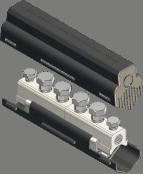 Sicame UM95S/SHR, UM185S/SHR & UM300S/SHR LV Mains Straight Connector