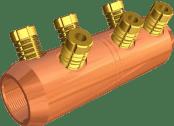 Sicame USMF2-C-B2, 3-C-B2, 9-C-B2 Copper MV Mains Connectors (North America)