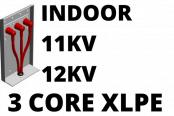 11kV 12kV Cable Termination Kits HV 3 Core XLPE Indoor (Heat Shrink)