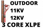 11kV 12kV Cable Termination Kits HV 3 Core XLPE Outdoor (Heat Shrink)