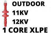 11kV 12kV Cable Termination Kits HV Single Core XLPE Outdoor (Heat Shrink)