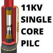 11kV Joint Single Core PILC Cables 50-95sqmm SPJ 12P-50-95-1
