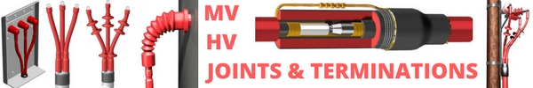33kV Cable Joints 3 Core PILC Heat Shrink Straight Joint Kits