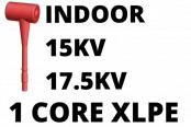 15kV 17.5kV Cable Termination Kits HV Single Core XLPE Indoor (Heat Shrink)