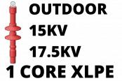 15kV 17.5kV Cable Termination Kits HV Single Core XLPE Outdoor (Heat Shrink)
