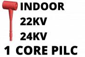 22kV 24kV Single Core PILC Cable Termination Indoor Heat Shrink