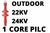 22kV 24kV Single Core PILC Cable Termination Outdoor Heat Shrink