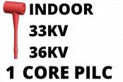 33kV 36kV Single Core PILC Cable Termination Indoor Heat Shrink