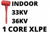 33kV 36kV Cable Termination Kits HV Single Core XLPE Indoor (Heat Shrink)