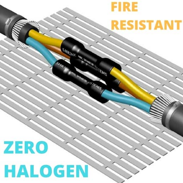 Cable Joint - Fire Resistant Zero Halogen