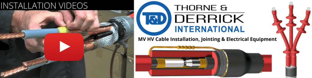 High Voltage Cable Termination Kits : Core xlpe cable termination indoor heat shrink kv hv
