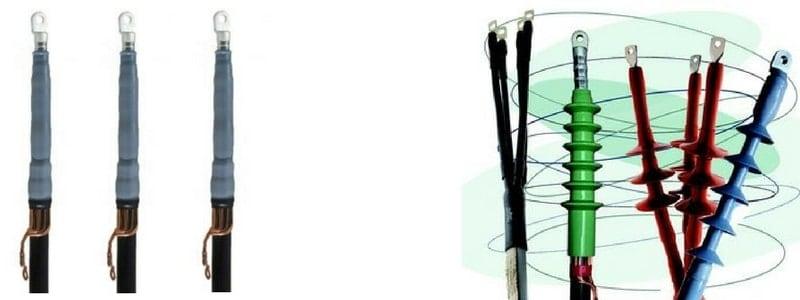 Cold Shrink Indoor Cable Terminations 11kV 24kV Euromold ITK