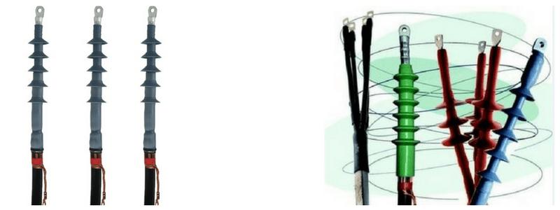Cold Shrink Indoor Cable Terminations 11kV 24kV Euromold OTK