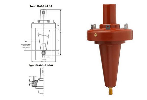 Euromold 180AR Equipment Bushings 11kV 24kV - Design