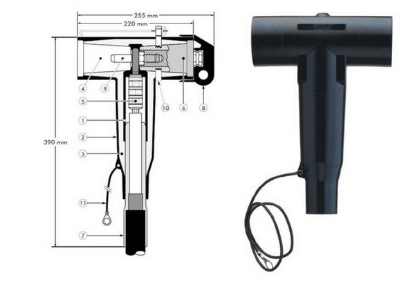 Euromold 400TE Tee Connector 11kV 33kV - Design