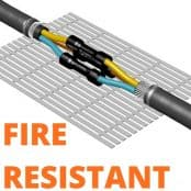 Fire Resistant Cable Joints