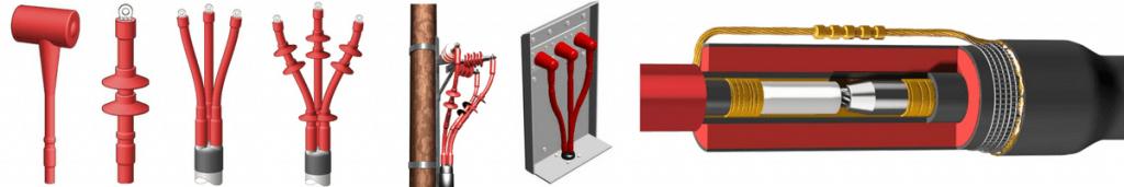 HV Cable Joints - Heat Shrink Joints 6.6kV 11kV 33kV High Voltage Cables