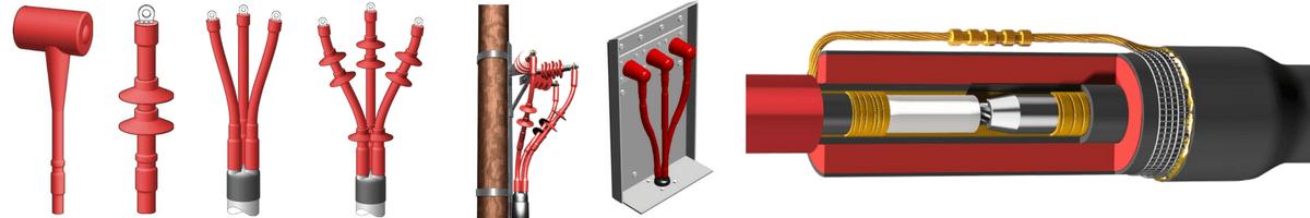 Heat Shrink Cable Terminations 6.6kV 11kV 33kV