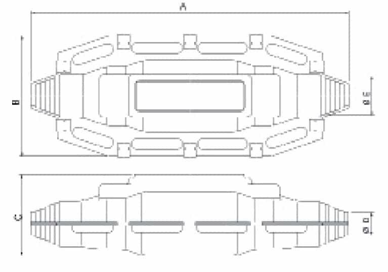 Prysmian JST LV Cable Joints - Dimensions