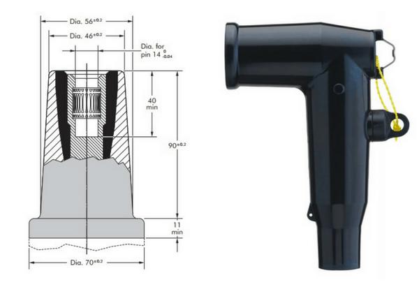 Nexans Euromold Connectors Bushings - Interface B