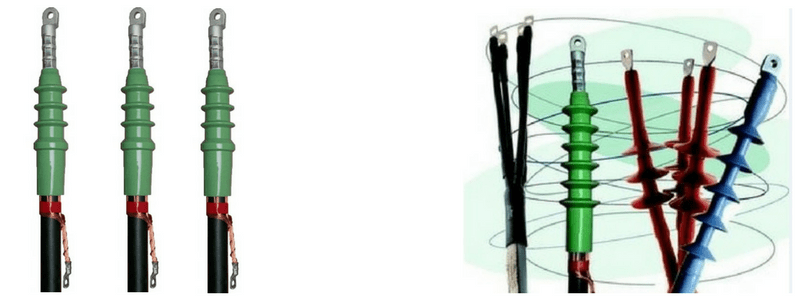 Slip On Indoor Cable Terminations 11kV 33kV 42kV Euromold AIN
