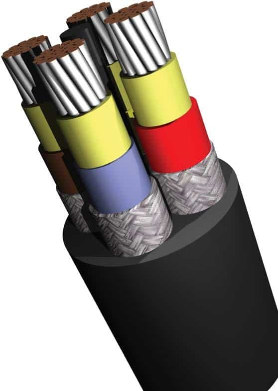 Type 11 Trailing Cable 640 1100 Volt Mining Cables