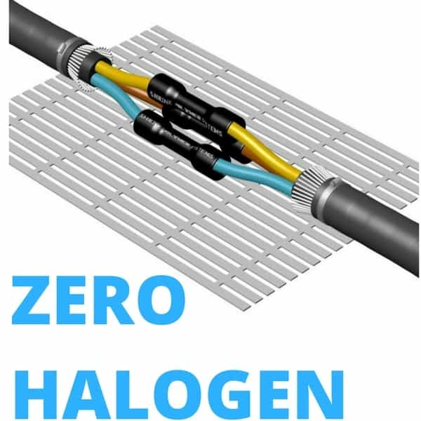 Cable Jointing Procedure : Zero halogen cable joints fire resistant london