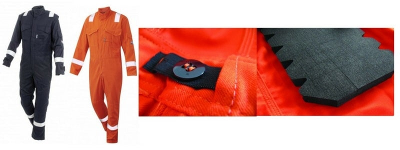Arc Flash Category 2 Coverall 9.5 Cal
