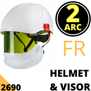 Arc Flash Helmet & Visor 24 Cal