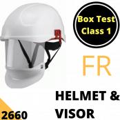 Arc Flash Helmet & Visor Class 1