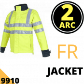 Arc Flash Jacket 23 Cal Hi Vis Yellow