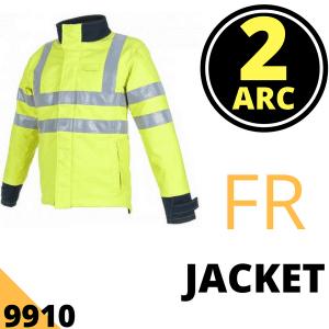 Arc Flash Jacket 23 Cal Hi Vis Yellow