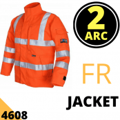 Arc Flash Jacket Category 2 10 Cal Hi Vis Orange